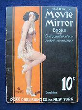 DORALDINA Little Movie Mirror Book Promo for SILENT FILM Actress - 1st Edition