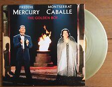 """Freddie Mercury & Montserrat Caballe - The Golden Boy  7"""" Gold Vinyl Queen"""