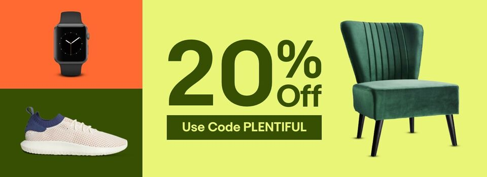 Use Code PLENTIFUL - Your 20% off Coupon Is Here