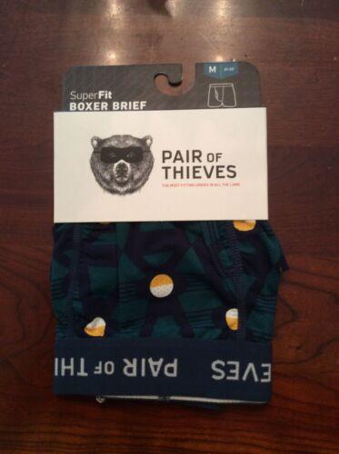 New NWT Medium Pair Of Thieves SuperFit Boxer Briefs Underwear