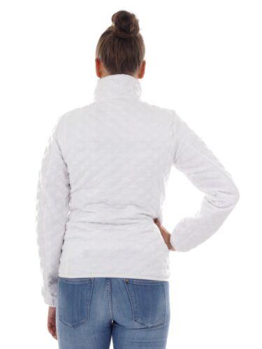 ™ blanc fonctionnelle Kragenjacke Isolant Thinsulate matelassée Veste Cmp XYOYq