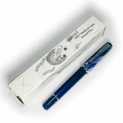 14027 Noodler/'s Konrad Flex Fountain Pen Medieval Lapis