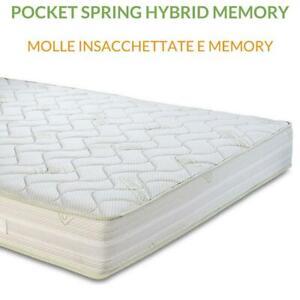 Materasso Molle Insacchettate E Memory Pocket Spring Hybrid Memory Ebay