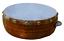 Khanjeera Hand Drum Percussion Dhapli Goat Skin Cover Wooden Professional Khamak