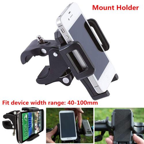 1x Universal Motorcycle Bicycle Handlebar Cell Phone GPS Mount Holder Adjustable