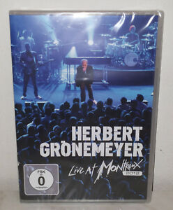 DVD-HERBERT-GRONEMEYER-LIVE-AT-MONTREUX-2012-NUOVO-NEW