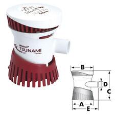 Pompe de Cale Tsunami T500 - 12V - 2090L/heure - bateau - jetski
