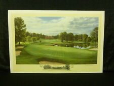 Linda Hartough Signed Hole 4 at Baltusrol Golf Club 1993 US Open A/P Lithograph