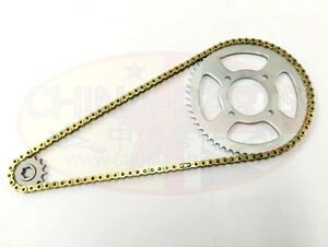 Heavy-Duty-O-RING-Chain-amp-Sprockets-Set-GOLD-to-fit-Zontes-Tiger-ZT125-3A