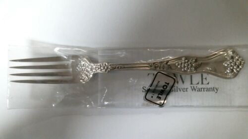 """Margaux by Towle Sterling Silver Place Fork 7 1//2/"""" Brand NEW"""