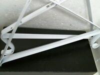 Shelf Bracket White 2 Per Order 0045-wts