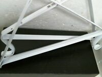 Shelf Bracket White 2 Per Order 0045-wts