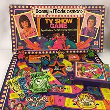 Vintage Original 1976 Donny and Marie Osmond TV Show Board Game Mattel Rare
