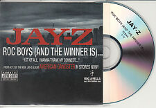 JAY-Z Roc Boys And The Winner Is UK 1-trk promo test CD clean edit