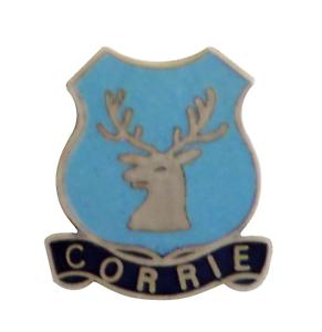 Saltcoats North Ayrshire Scotland Small Town Crest Pin Badge