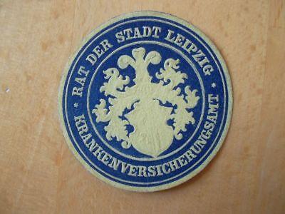 Flight Tracker Siegelmarke 15301 Rat Der Stadt Leipzig Krankenversicherungsamt Weitere Rabatte üBerraschungen