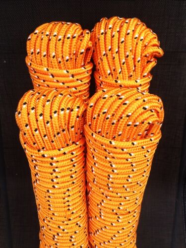 Nr.30 Universalseil 8 mm,30m,Schot Kordel,Spannseil,Rope,Expanderseil,Orange,