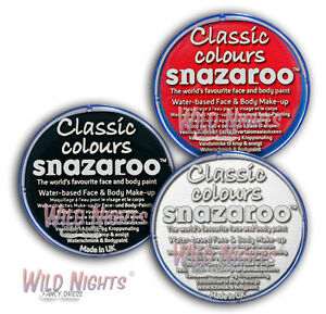 Snazaroo-Face-Paint-Multi-Pack-White-Black-Red-18ml-Pick-and-Mix