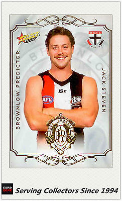 2017 Select Afl Footy Stars Brownlow Predictor Card Bp120 Jack Steven #123 2019 New Fashion Style Online st.k