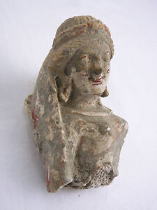 Art-Buddhist-Greco-Archaeology-Art-of-Gandhara-Element-of-Frizzed-Stucco