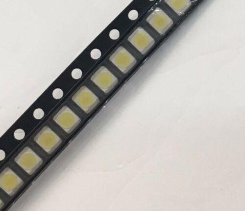 25pcs led lcd TV Backlight strip repair beads  2835 1W 3.2v Cool white