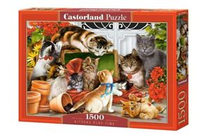 Castorland C-151639-2 - Kittens Play Time, Puzzle 1500 Teile - Neu