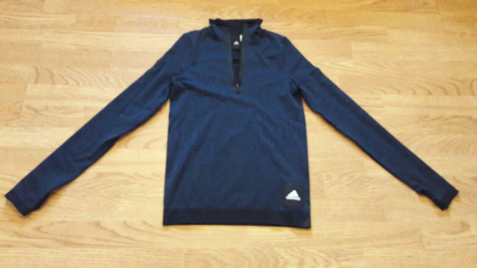Adidas Running Women Top IC Seamless Lightweight Sweatshirt RRP .95 UKsize S