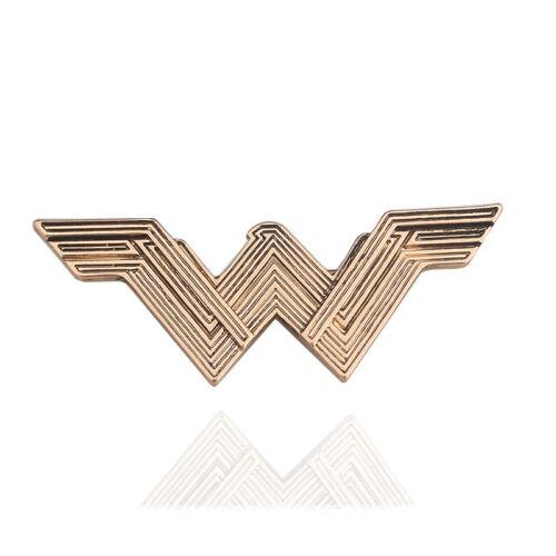 Halloween Superhero Cos Brooch Wonder Woman Starlight Crown Headwear Logo Badge