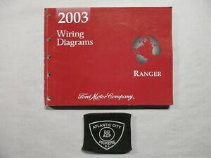 2003 Ford Ranger Diagramas De Fiacao Eletrica Manual De Servico Ebay