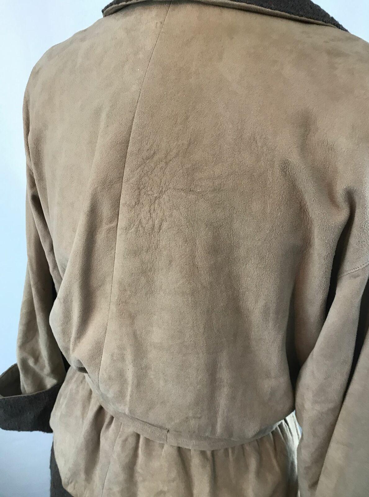 Vintage Bonnie Cashin Leather Jacket and Skirt Se… - image 6