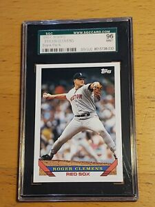1993-Topps-Roger-Clemens-Ultra-Rare-Blank-Back-SGC-Graded-and-Authenticated