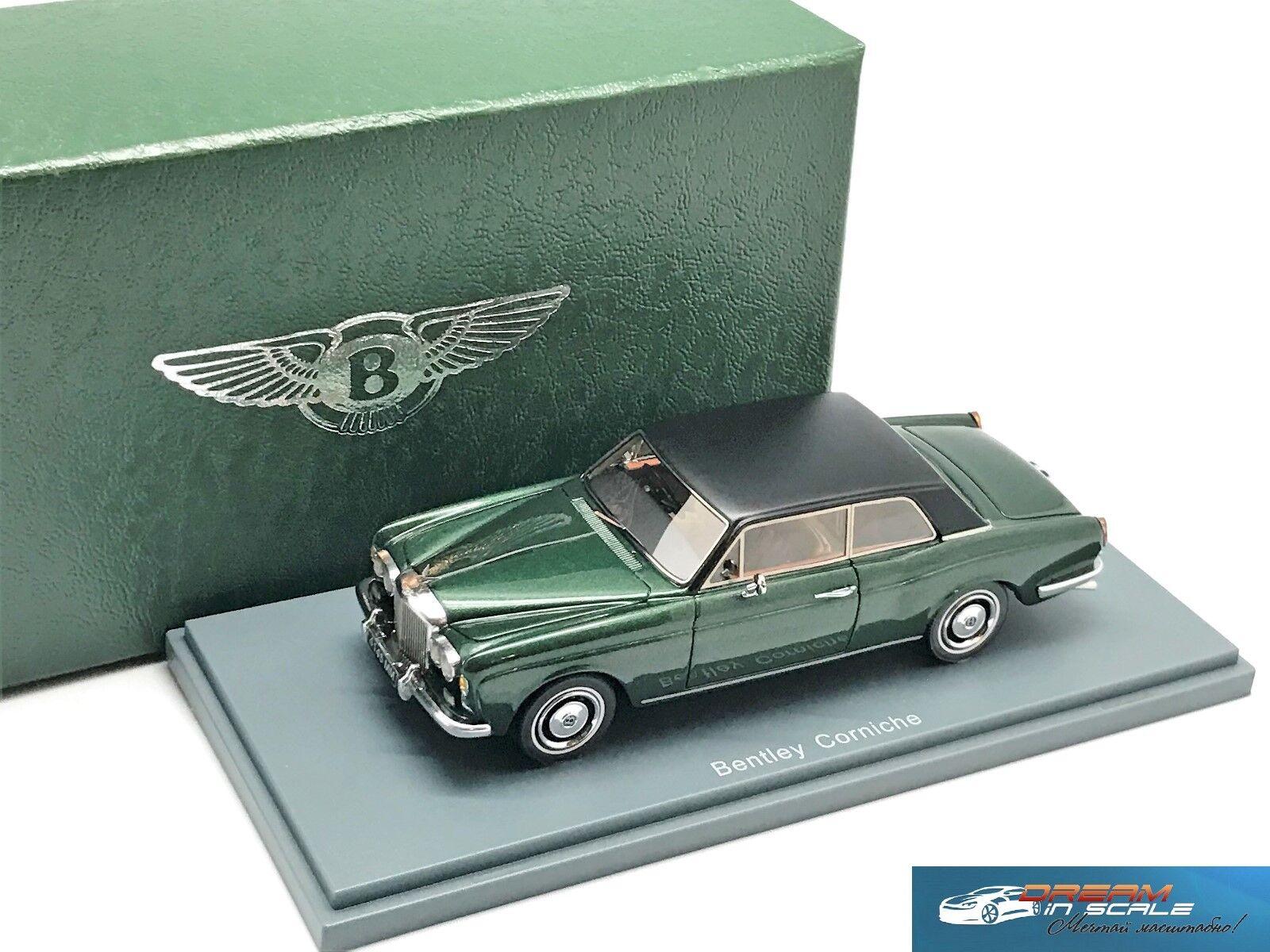 Bentley Corniche grön met 1971 NEO44145 1 43