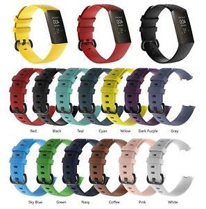 Brassard-de-remplacement-Pour-Fitbit-Charge-3-Fitness-Watch-expedition-le-jour-meme