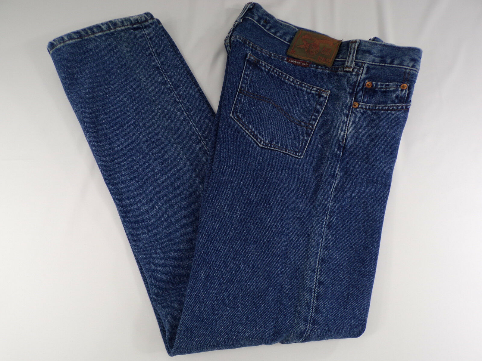 Vintage Liberto Womens 30 x 31 Slim Fit Jeans Zip Fly RARE  Miss Bade