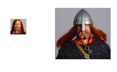1//6 Scale Dog Soldier 13th Century Viking head sculpt for Custom figures