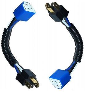 ceramic h4 headlight wiring harness heat resistant plug. Black Bedroom Furniture Sets. Home Design Ideas