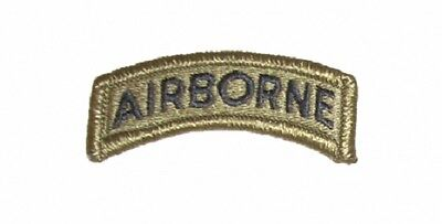 US ARMY Airborne Tab patch ACU Multicam Scorpion Tan499 Uniform