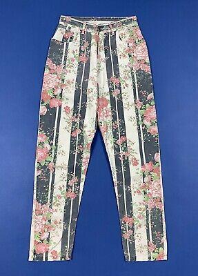 Controvento Pantalone Donna Usato Mom Hot W26 Tg 40 Vita Alta Boyfriend T5616