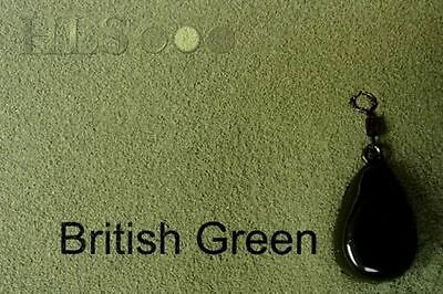 S-BGR SMOOTH MATT British Green Lead//Jig head coating powder plastic HLS tackle