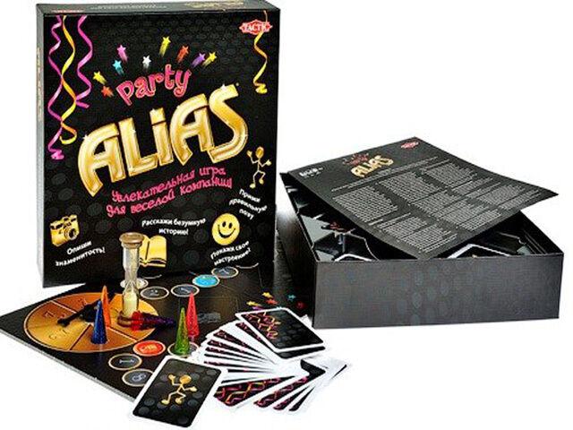 Игра Скажи иначе Alias (Алиас) Для вечеринки Tactic games