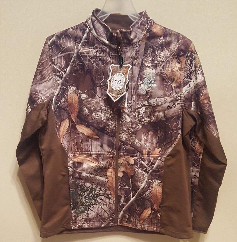 Női Camo vízálló teljes Zip Softshell kabát Mossy Oak Realtree