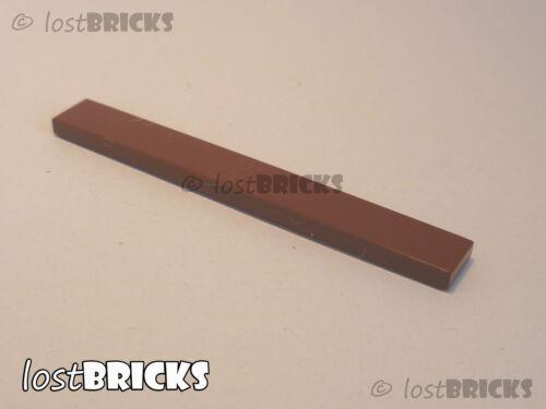 FREE POSTAGE SELECT COLOUR 5 x NEW LEGO Tiles 1x8 Part 4162
