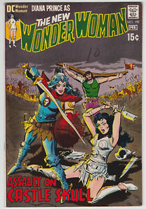 Wonder-Woman-192-VF-8-0-Assault-On-Castle-Skull-Mike-Sekowsky-1971