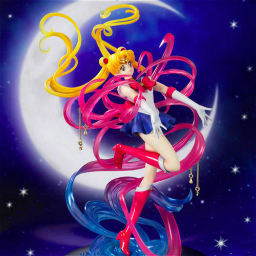 Anime Figuarts Zero chouette Sailor Moon Moon Crystal Power Make Up Figure NoBox