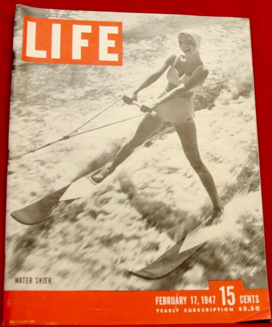 Life Magazine February 17, 1947 Nash Auto Movie The Yearling Near Mint Condition
