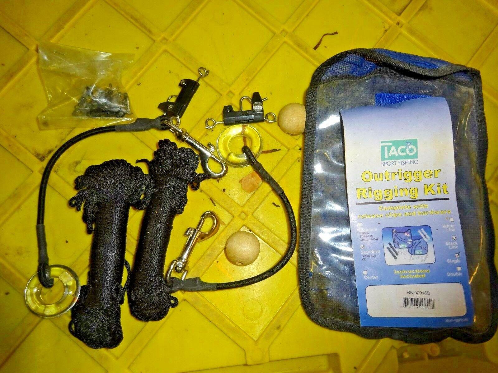 TACO  Standard Rigging Kit f 1-Rig on 2 -Poles   RK-0001SB  outlet on sale