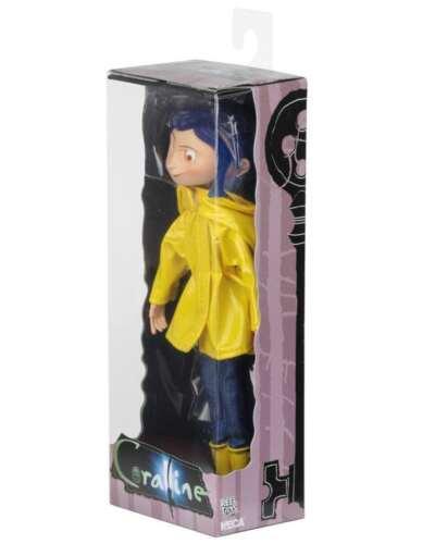 New7 pollici Coraline Braccialetto Fashion Doll in impermeabile e Stivali Caroline Figura Regalo