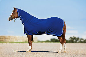 Details About Horseware Amigo All In One Plus Wicking Combo Fleece Rug Neck Blue 5 6 7 0