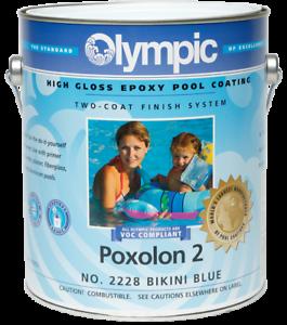 Olympic Poxolon 2 2 Coat Epoxy Pool Coating Ebay