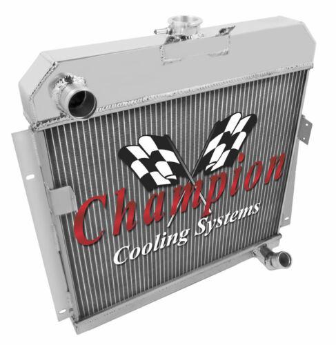 3 Row Performance Champion Radiator for 1953 1954 Dodge Car